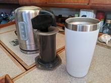 AeroPress and other coffee making things
