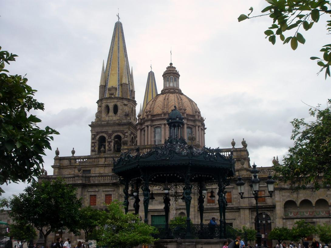 A church in Guadalajara
