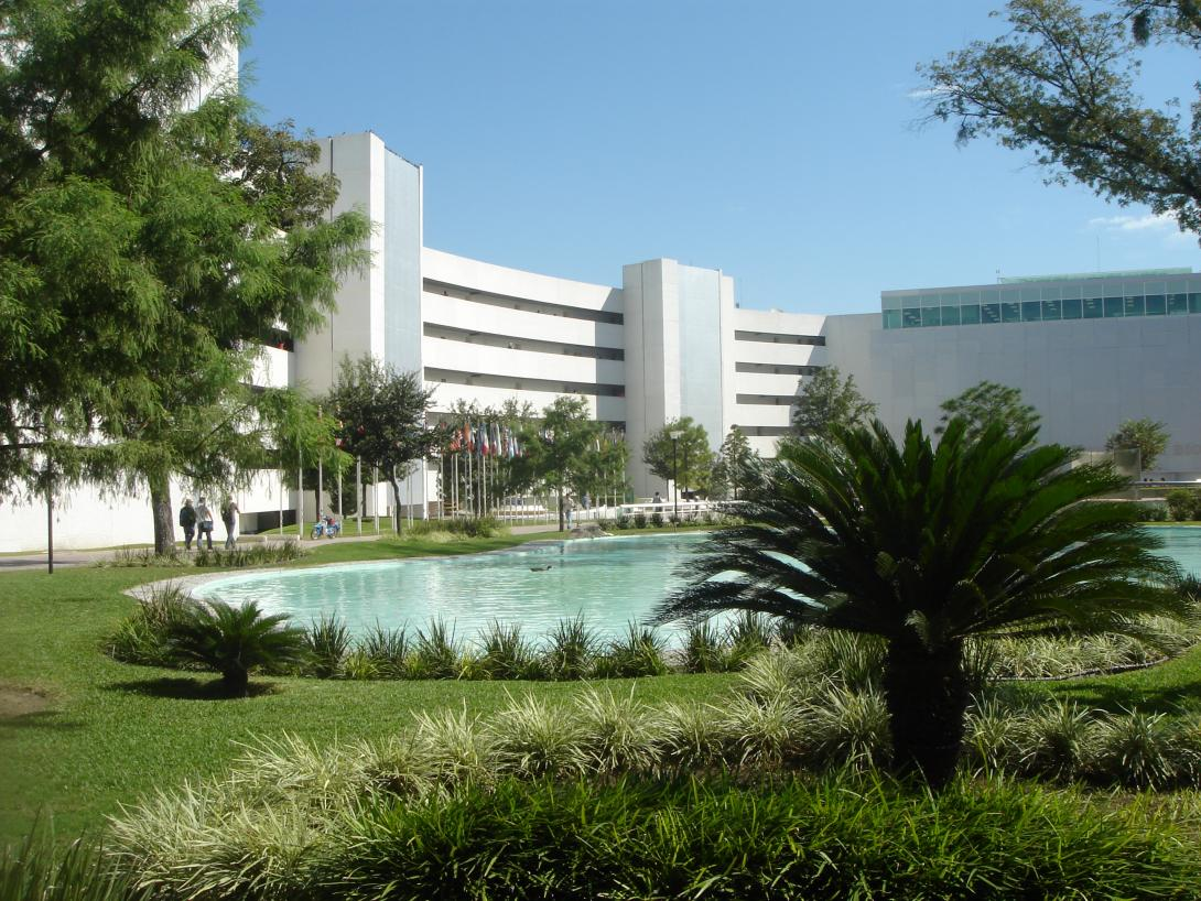 Building on Tec de Monterrey campus